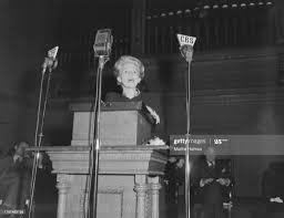 Author Lillian Eugenia Smith, standing on the podium in Boston,... News  Photo - Getty Images