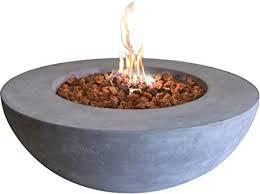 elementi lunar bowl outdoor table