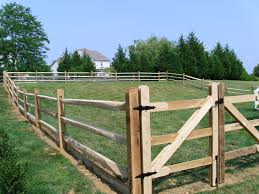 Split Rail Fence Rustic Landscape Philadelphia By Integrous