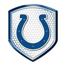 Indianapolis Colts Decal Shield Style Reflector Style Indianapolis Colts Nfl Car Reflective Decals