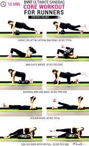 10 minute ultimate sandbag core workout