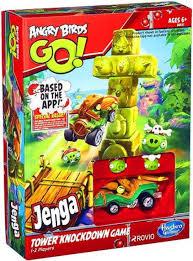 Angry Birds GO Jenga Tower Knockdown Game Hasbro Toys - ToyWiz