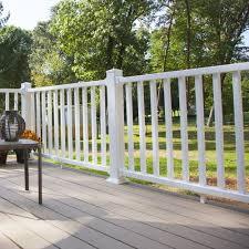 Xpanse Select Vinyl Railing 3 Ft H Rail Kit Fence Panel Walmart Com Walmart Com