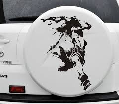 2014 New Car Styling Japanese Anime Sticker One Piece Fire Fist Ace For Jeep Free Shipping 08 8 62 Jeep Stickers New Cars Car Stickers