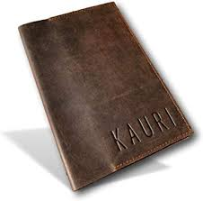 kauri leather vintage journal cover