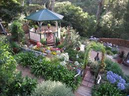 terraced garden in victoria australia