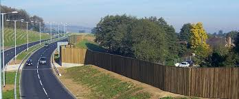 Highway Noise Barrier Acoustic Fencing Knight Fencing