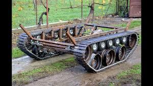 homemade 300cc tank part 4 tracks