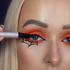spider makeup for