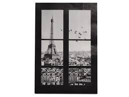 3d Scenery Of Paris Eiffel Tower Occident Fake Window Wall Stickers Living Room Bedroom Decals Art Home Wall Door Window Decor Newegg Com