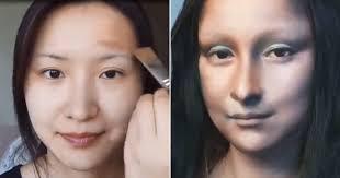china transforms into mona lisa