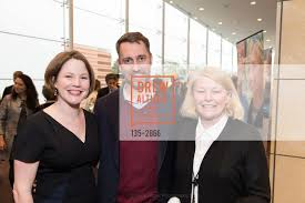 Abigail Stewart-Kahn with Rich Gill and Vivian Stewart
