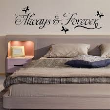 Always Forever Quote Words Lettering Vinyl Wall Art Decal