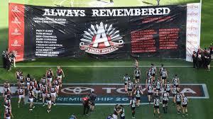 AFL 2020, AFL, ANZAC DAY AFL ceremony ...