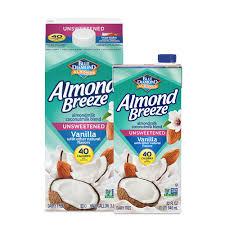 unsweetened vanilla almond coconut milk