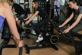 letizia paternoster trains with technogym