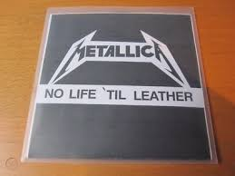 metallica no life til leather cd