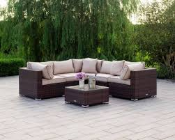 rattan garden daybeds at