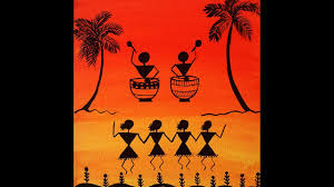 warli basic painting for beginners