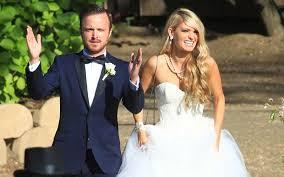 Breaking Bad Star Aaron Paul Weds Lauren Parsekian