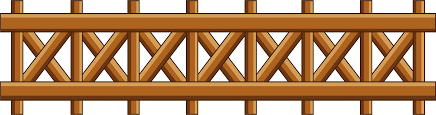Download Flower Fence Cliparts Wood Fence Clipart Png Png Image With No Background Pngkey Com