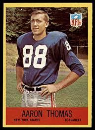 Amazon.com: Football NFL 1967 Philadelphia #119 Aaron Thomas Near ...