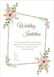 wedding invitation wordings for friends