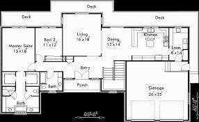 master on main house plans luxury
