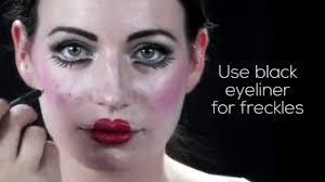 diy halloween porcelain doll makeup