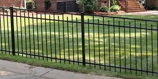 Black Aluminum Fence Outback Fence Aluminum Fences Direct
