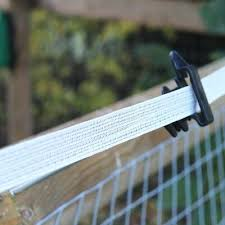 Polytape Electric Fence Insulators Plastic Holders For Tape Fortis Fencing