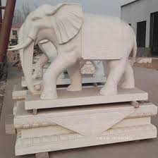 marble elephant statue stone