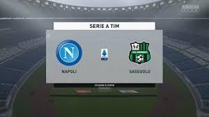 ⚽ Napoli vs Sassuolo ⚽ | Serie A (25/07/2020)