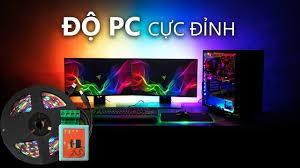 Độ LED AmbiLight cho máy tính PC Cực Đỉnh - YouTube