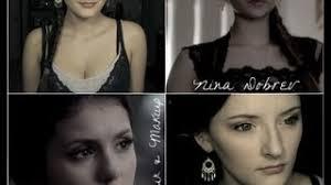 nina dobrev vire diaries makeup tutorial