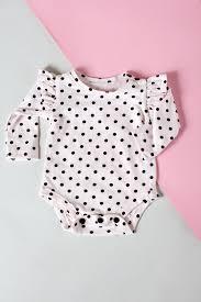ruffle sleeve onesie basic onesie