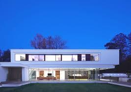 ultra modern villa design white lodge