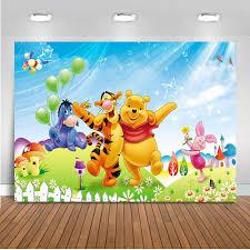 photography backdrops winnie pooh theme