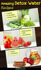 homemade detox drinks easy to prepare