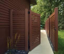 Vinyl Wood Grain Vinyl Fence Products Halfway Fence Company