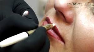lips permanent makeup oded method by