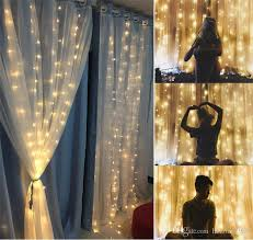 Led Light Up Window Curtains Ice Strip Waterfall Merry Christmas Supplies Festive Birthday Party Decoration Lamp String Pure Color 26ly Bb Kids Party Packs Kids Party Plates From Qiansuning88 21 28 Dhgate Com