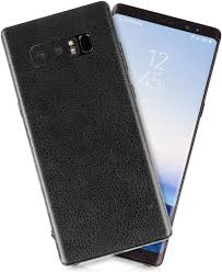Amazon Com Black Leather Texture Protective Skin Decal For Samsung Galaxy Note 8 Sticker Wrap Cover 10 Pack By Golemguard