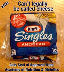 kraft singles fake food faulty