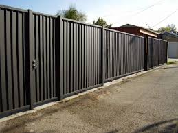 Modern Black Metal Fence Archives Randolph Indoor And Outdoor Design