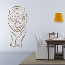 Shop Abstract Tiger Wall Decal Sticker Mural Vinyl Decor Wall Art Overstock 11190430