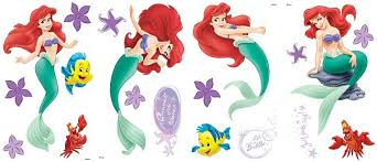 Ariel The Little Mermaid Wall Decals Wall Stickers