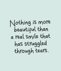 inspirational quotes nothing is more beautiful than a real