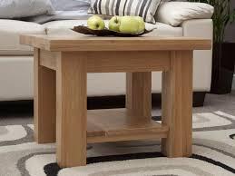 torino light oak 2 x 2 coffee table