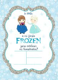 Somni Craft Freebies Para Decorar Una Fiesta Frozen